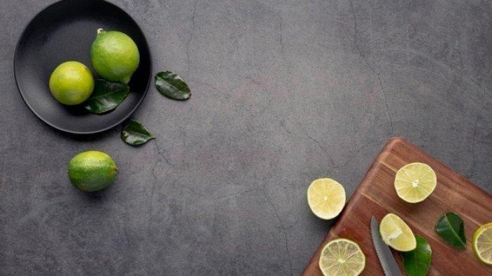 Ilustrasi jeruk nipis