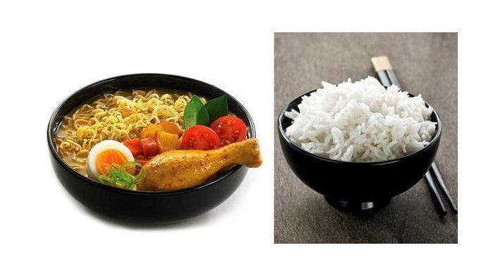 Kandungan Kalori dalam Nasi dan Seporsi Mi Instan, Bahaya Kelebihan Karbohidrat