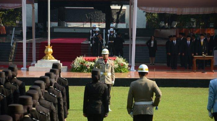 Kapolresta Jambi Jadi Komandan Upacara Peringatan Hari Kesaktian Pancasila di Jakarta