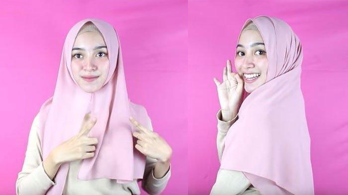 Tren Hijab 2021 Tutorial Hijab Pashmina Untuk Hang Out Dan Kantoran Simple Dan Praktis Tribun Jambi