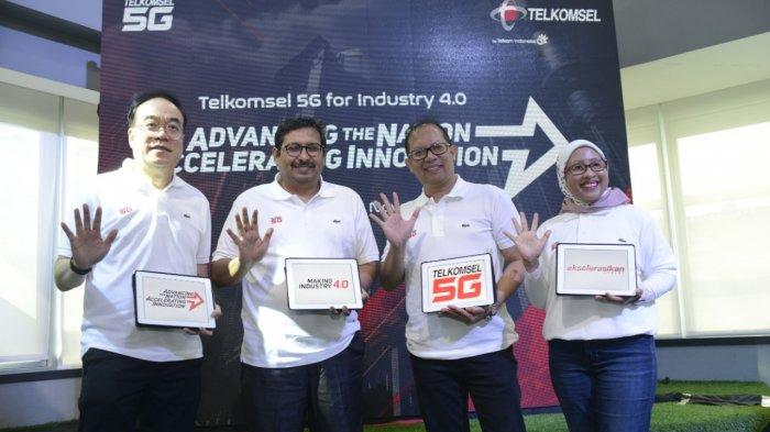Telkomsel Uji Coba 5G untuk Kebutuhan Industri, Akselerasikan Negeri Menuju Making Indonesia 4.0