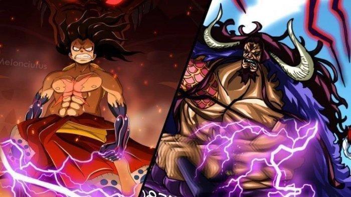 LINK BACA Manga One Piece Chapter 1009, Monkey D Luffy dan Zoro Kena Serangan Telak Kaido & Big Mom