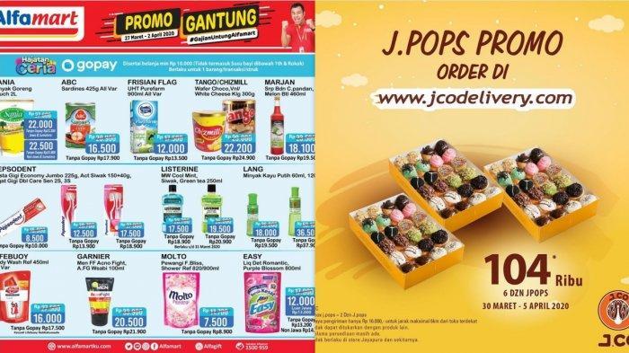 Promo Alfamart, Indomaret, J.CO & Roti O, Beras, Minyak, Produk Kecantikan hingga Roti dan Donat