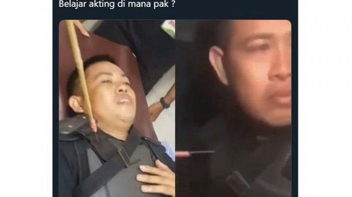 Viral Foto Polisi Terkena Panah, Warganet Sebut Akting, Kapolres Makassar Sebut Kebalikannya