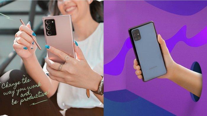 Daftar Harga HP Samsung Hari ini 27 November 2020 Lengkap dari Rp 1 Jutaan hingga Rp 20 Jutaan