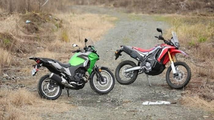 Berkonsep Touring 250cc - Pilih Honda CRF250 Rally atau Kawasaki Versys-X 250?
