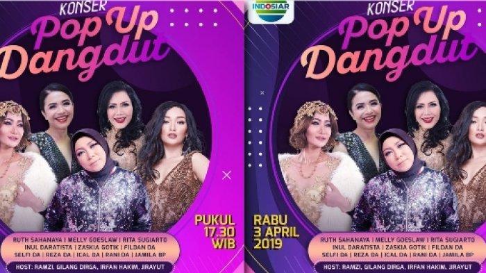 LIDA 2019 - Live Streaming Konser Pop Up Dangdut Sore Ini, Bagaimana Aksi Ebi, Wakil dari Jambi
