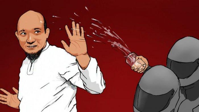 Reaksi Novel Baswedan Saat Polisi Sebut Motif 2 Pelaku Penyiraman Air Keras Padanya: