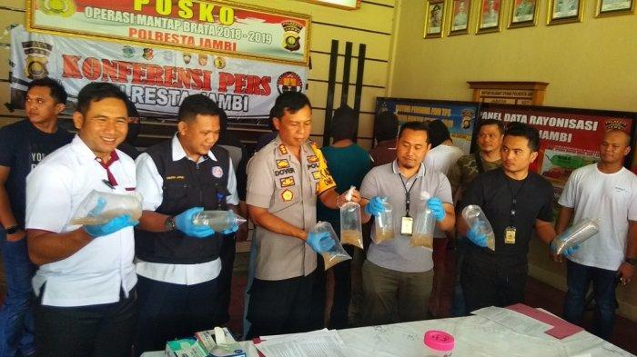 113 Ribu Benih Lobster Selundupan Ditangkap Polresta Jambi, Libatkan Warga Batam dan Bengkulu