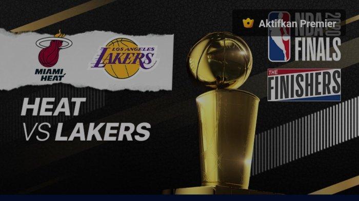 Streaming Final NBA LA Lakers vs Miami Heat Mulai Pukul 08.00 WIB via vidio.com