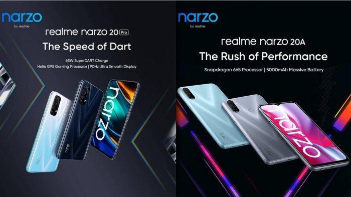 Harga HP Realme Mei 2021 - Realme Narzo 20 Pro Rp 3 Jutaan RAM 8GB, Realme 8 Pro Realme X3 SuperZoom