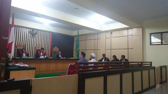 Kasus Dana Pengamanan Pilwako Jambi 2018-Ary dan Ilhan Dituntut 8 Tahun Penjara