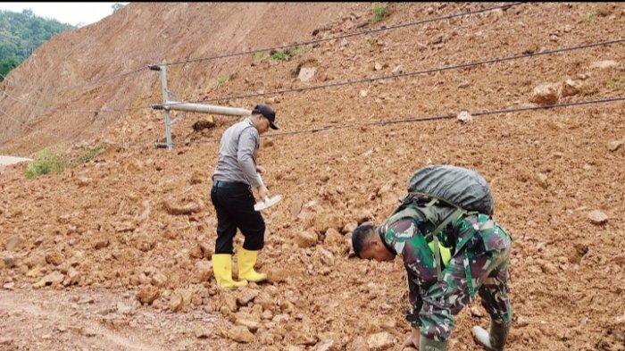 Longsor di Batang Asai Sebabkan Jalan ke Kota Sarolangun Lumpuh Total, Listrik Ikut Padam