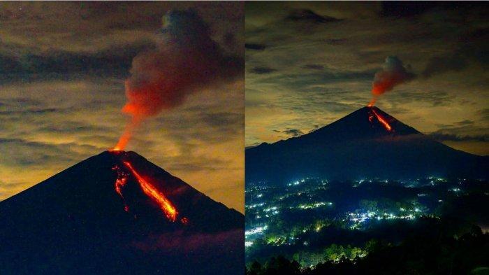 Gunung Semeru erupsi Selasa (3/3)