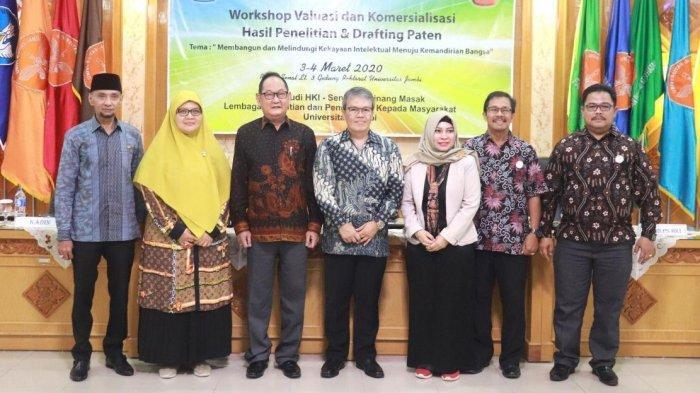 Workshop Valuasi dan Komersialisasi Hasil Penelitian dan Drafting Paten Bagi Dosen
