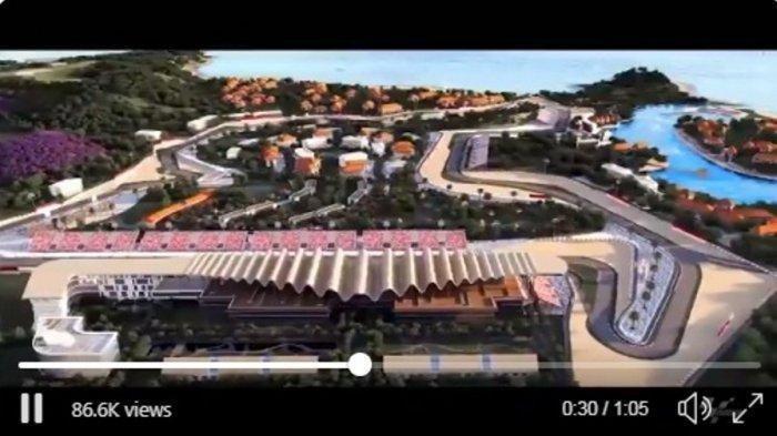 Video 3D Sirkuit Mandalika, Lombok Diunggah Pihak MotoGP, Seperti Apa Penampakannya?