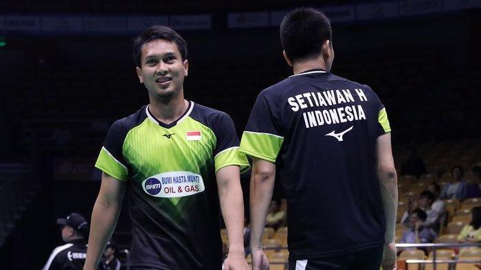 Indonesia Kunci Gelar Juara Usai Ahsan/Hendra Susul Marcus/Kevin di Final Denmark Open 2019!