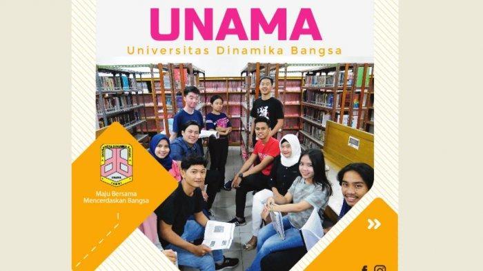 Panduan Pendaftaran Masuk Universitas Dinamika Bangsa (Unama) Jambi Secara Online