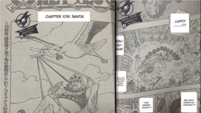 Rawr Scan One Piece 1015 Rantai - Chopper Menangis Diselamatkan Sanji, Luffy Diselamatkan saat Jatuh