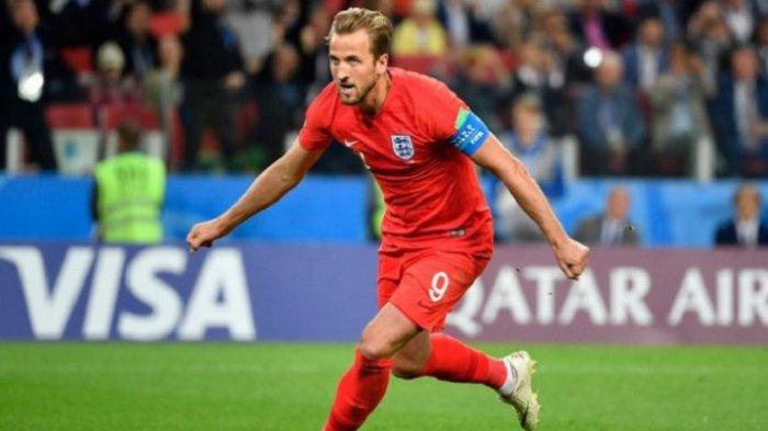 Harry Kane Dapat Sepatu Emas di Piala Dunia 2018, Begini Trek Recordnya Selama Pertandingan