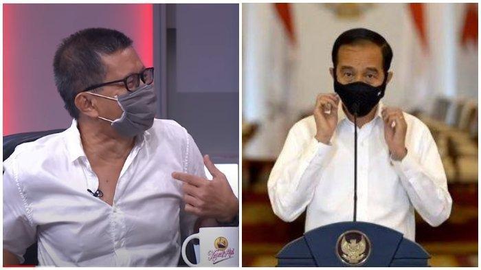 Rocky Gerung Langsung Sindir Begini Setelah Beredar Foto Jokowi Bareng Abu Janda dan Denny Siregar