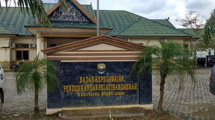 Pegawai Positif Covid-19, Kantor DPM PTSP & BKD Muarojambi Ditutup Sementara