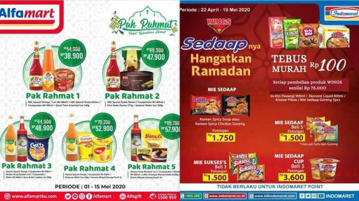 Katalog Promo Alfamart & Indomaret hingga 15 Mei 2020 - Paket Ramadan, Minyak Goreng, Personal Care