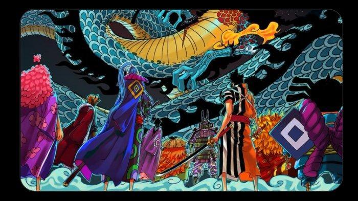 Bocoran One Piece 1012 - Izo Ketemu Adiknya Kiku, Nami Berusaha Membujuk Ulti Melawan Big Mom
