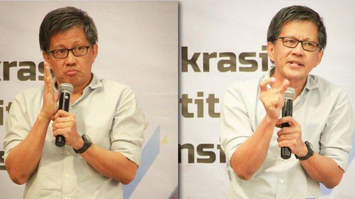 Sebut 'Istana' dan 'Plonga-Plongo', Rocky Gerung Sindir PLN Gegara Mati Lampu di Jakarta