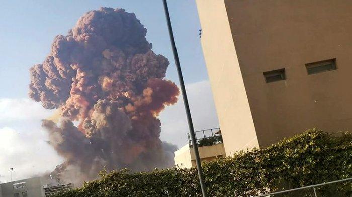 Inilah Dugaan Awal Penyebab Ledakan Dasyat di Lebanon, Radius Kerusakan Capai Beberapa Kilometer
