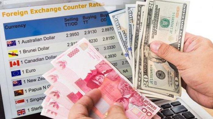 Kurs Dollar Rupiah di Bank BRI Tengah Hari Selasa 4 Mei 2021 di TT Counter e-rate dan Bank Notes