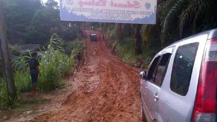 Kerusakan Jalan Pascabanjir, Berharap Aturan tentang ADD Bisa Lebih Fleksibel