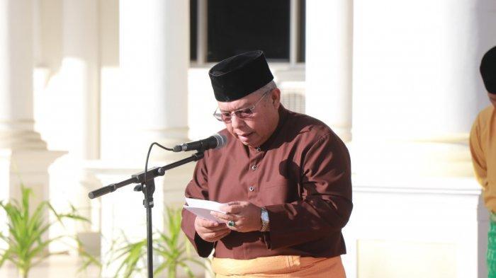 Pemkab Tanjab Barat Gelar Upacara HUT Ke-63 Provinsi Jambi, Bupati Safrial Ingatkan Hal Ini