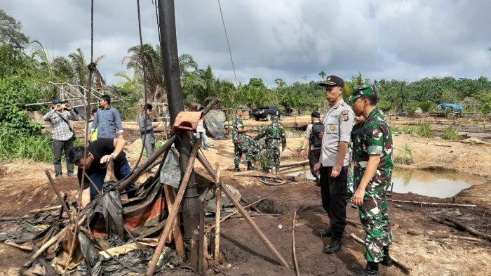Tiga Pelaku Illegal Drilling di Sarolangun Diringkus, Polres Tak Mau Kecolongan Terus Buru Pemodal