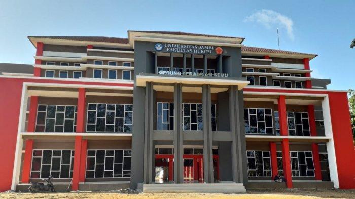 Rektor UNJA Resmikan Gedung Peradilan Semu Fakultas Hukum