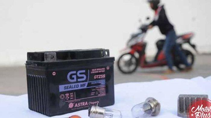 Harga Aki Motor Terbaru - GS Astra, Yuasa, Quantum, Harga Mulai Rp 100 Ribuan