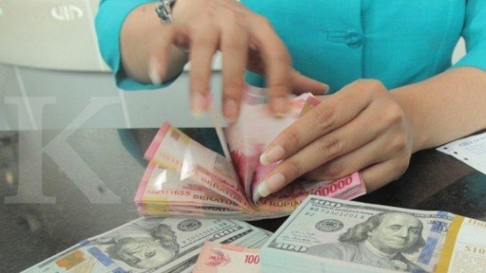 Ilustrasi kurs rupiah