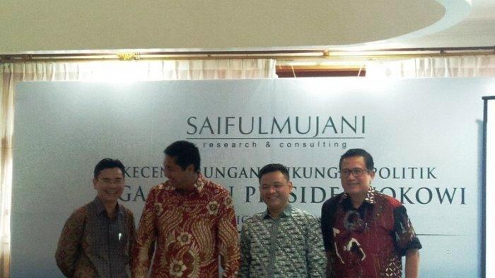 SMRC Nilai Kasus Hoaks Ratna Sarumpaet Tak Otomatis Untungkan Jokowi