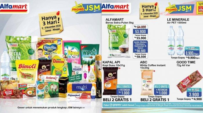 Promo JSM Alfamart Hingga 8 November 2020, Promo Beras, Susu, Popok, Minyak Goreng, Detergen