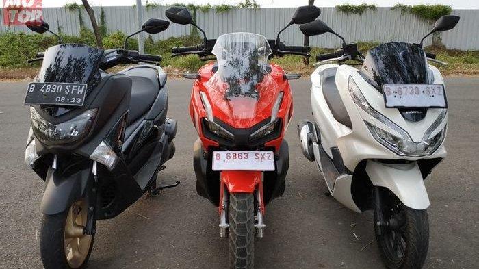 Yamaha NMAX 155, Honda PCX 150 dan ADV150