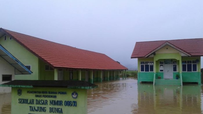 Sekolah Rawan Bencana di Kerinci, BPBD Usulkan Bantuan Pusat