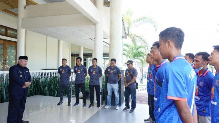 Tim Sepak Bola Tanjab Barat Siap Bertarung Rbut Juara Gubernur Cup 2020