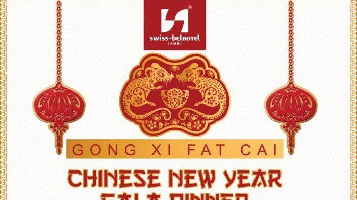 Chinese New Year Gala Dinner, Swiss-Belhotel Jambi Siapkan Grand Prize Tiket PP Jambi-Singapura