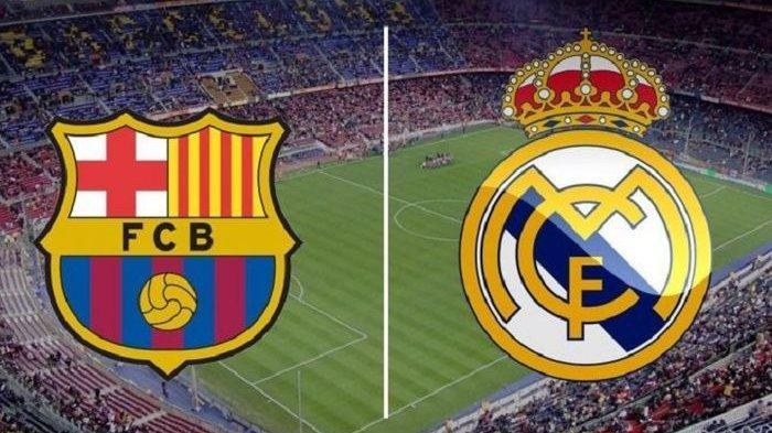 STREAMING Link Live Real Madrid Vs Barcelona La Liga Spanyol El Clasico Malam Ini Mulai 02.40 WIB