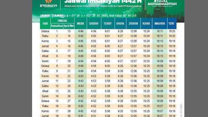 Link Download Jadwal Imsakiyah Ramadhan 2021