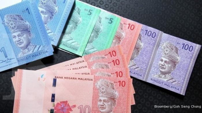 Ilustrasi uang ringgit Malaysia