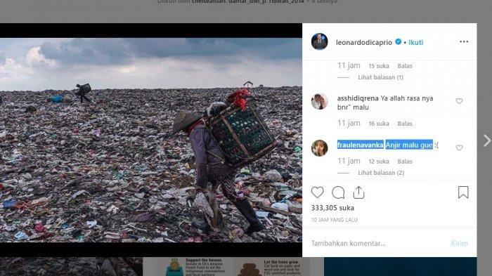 Duuuhh Malu, Aktor Hollywood Leonardo Dicaprio Soroti Lautan Sampah di Bantargebang
