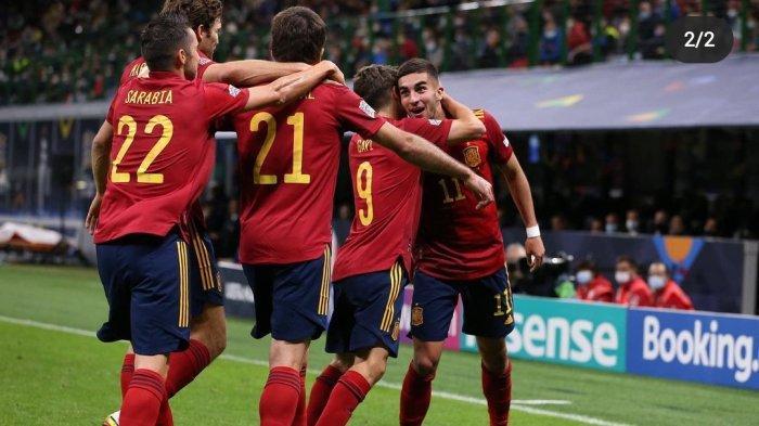 Italia 1-2 Spanyol: La Roja mengakhiri rekor Tak Terkalahkan Azzuri