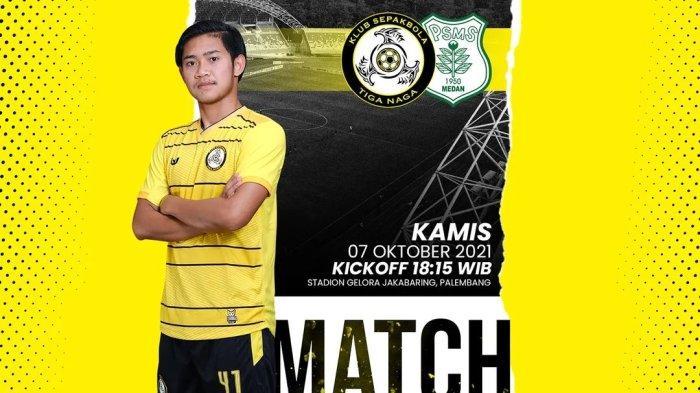 PSMS Medan vs KS Tiga Naga