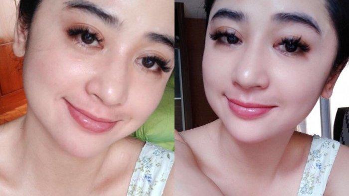 Foto Dewi Persik tanpa filter